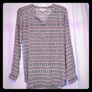 Ann Taylor LOFT tunic blouse 👕